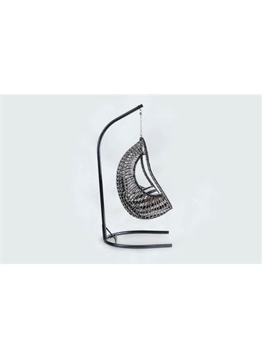 Engince Mobilya Rattan Bahçe Balkon Salıncağı Zebra Minder Cv12 Renkli
